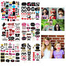 Photo Booth Party Props Birthday Wedding Baby Shower Beard Selfie Party Supplies