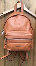 Coccinelle Orange Leather Backpack Handbag Rucksack