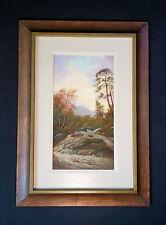 Magnifique Peinture à L'Huile Gallois Paysage Wales. Mark Oldham 1a