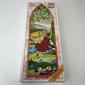 Precious Moments Blessed Are The Pure At Heart  500 Piece Jigsaw Puzzle Cork '98