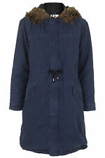 Topshop Zip Knee Length Outdoor Coats & Jackets for Women