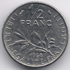 France :  1/2 Franc 1968