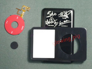 Black iPod video U2 case kit for iPod video 5th 5.5th 30GB  replace