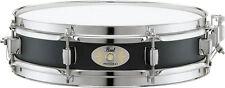 """Pearl S1330B 13"""" x 3"""" Piccolo Snare Drum, Black Steel"""