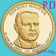 2014 P&D HERBERT HOOVER PRESIDENTIAL DOLLARS SET FROM MINT ROLL UNCIRCULATED