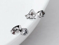 New 18K White Gold GP Austrian Crystals Cute Shinning Studs Earrings FB528