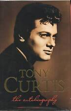 Tony Curtis signed The Autobiography 1st. Ed. 1993 NF/F