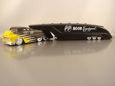 Moon Eyes Mooneyes Sledster Flat Black Drag Bus Evo BossCo Custom Crew