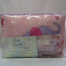 Little Bedding by NOJO Tumble Jungle 4-pc Secure Me Bumper