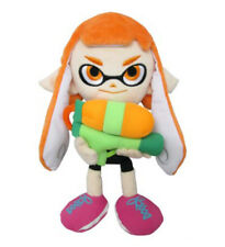 "Genuine Little Buddy Splatoon 1467 9"" Female Inkling Stuffed Plush Doll Toy"