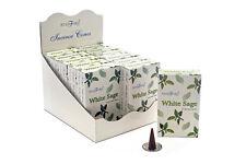 Stamford White Sage Incense Cone 12 X Pack 15