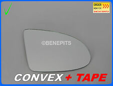 For AUDI A2 2000-2005 Wing Mirror Glass CONVEX + STRONG TAPE Right Side /A014