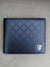 Cartera billetera portatarjetas  hombre color negro