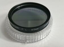 49mm Cir Polarizing CPL PL-CIR Polarizer Lens Filter Circular Polarizing Japan