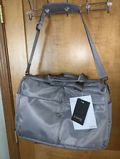 NEW Lipault - City Plume 24H Bag - Overnight Travel Weekender - Pearl Grey