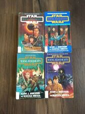 Vintage Young Jedi Knights Series Books Star Wars Lot of 4