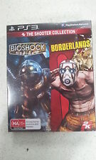 The Shooter Collection Bioshock & Borderlands Sony PlayStation 3 PS3 Brand New