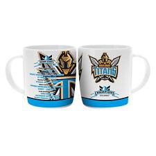 NRL Gold Coast Titans TEAM Premiership History Ceramic Coffee Mug Cup Gift