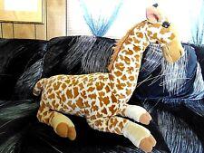 """Large giant 24"""" laying plush stuffed K & M giraffe"""