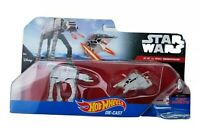 Hot Wheels Disney Star Wars AT-AT Walker vs REBEL SNOWSPEEDER 2 Pack New Toy