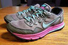 bbe372a510a01 NIKE AIR ZOOM WILDHORSE 3 GTX Womens Sz 6.5 Trail GORETEX Shoes 805570 300