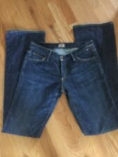 GoldSign Denim Jeans Boot Cut Size: 26 X 32 pkts Passion embroidered Made USA
