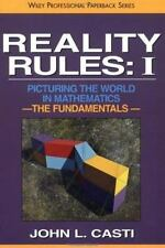 Reality Rules Vol. 1 : Picturing the World in Mathematics - The Fundamentals...