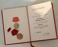 """Stasi NVA con Berlin 7. OTT. 1964, d'inchiostro-ou """"Mielke MFS""""!!!"""