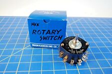 New In Box NKK Rotary Switch HS16-2N Free Shipping to the USA