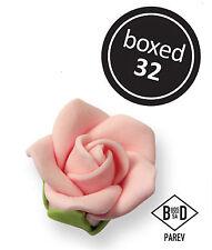 JEM Cake Icing Decorating Sugarcraft Ready Made Small Sugar Rose Pink 25mm 32 Pk