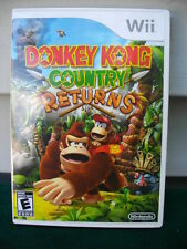 NINTENDO WII DONKEY KONG COUNTRY RETURNS GAME COMPLETE & TESTED