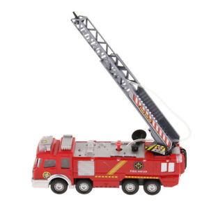 Fire Truck Fireman Vehicle With Light and Music Children's Educational Toys