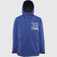 THIRTYTWO Men's SHILOH Shell Snow Jacket - Blue - Medium - NWT