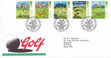 5 JULY 1994 GOLF ROYAL MAIL FIRST DAY COVER BUREAU SHS