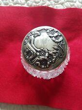 New ListingExquisite Art Nouveau Sterling Silver Dresser Jar By Unger Bros.