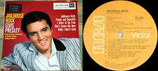 "Elvis ARCHIVE COPY ""Jailhouse Rock"" ORANGE LBL 100% genuine Sth. Africa only LP"