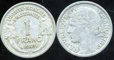 FRANCE  WW2  1 franc MORLON  1945 C   ( etat )