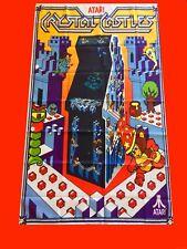 LARGE Crystal Castles Flyer Arcade Video Game Banner Flag Poster