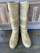DUBLIN Husk River Country Stable Boots Size 9