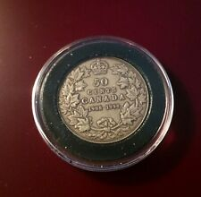 1908-1998 Canada 50 CENTS Antique Finish proof Silver coin