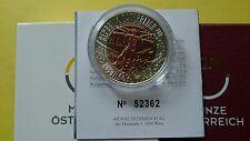 AUSTRIA 25 euros 2011 . ---------- biónica ---