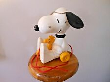 Vintage 1972 Peanuts Snoopy & Woodstock Pull Toy Ears Spin Hasbro Toy