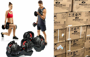 SHIPS NOW!! Bowflex SelectTech 552 Adjustable Dumbbells PAIR IN HAND BRAND NEW!