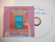 MEGHAN TRAINOR : ALL ABOUT THAT BASS [ CD PROMO ] ~ PORT GRATUIT