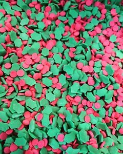 Holly Green Leaf And Red Berries Christmas Sprinkles, 70g
