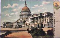 US Capitol Washington D.C. Vintage Postcard A67