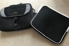 Targus Black Laptop Case Bag + Soft Sleeve Bag