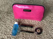 Lancome Eye Makeup Sets 5 Pieces Kit, Hghlighter/Mascara/Liner/ Remover/Bag