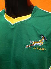 SOUTH AFRICA Jersey Maillot Maglia Home Springboks SA Rugby Cup Official License