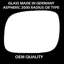 Volkswagen Touareg Wing Mirror Glass - Silver,LH(Passenger Side), 2003 to 2007
